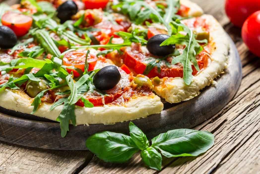 Món pizza Ý thực thụ