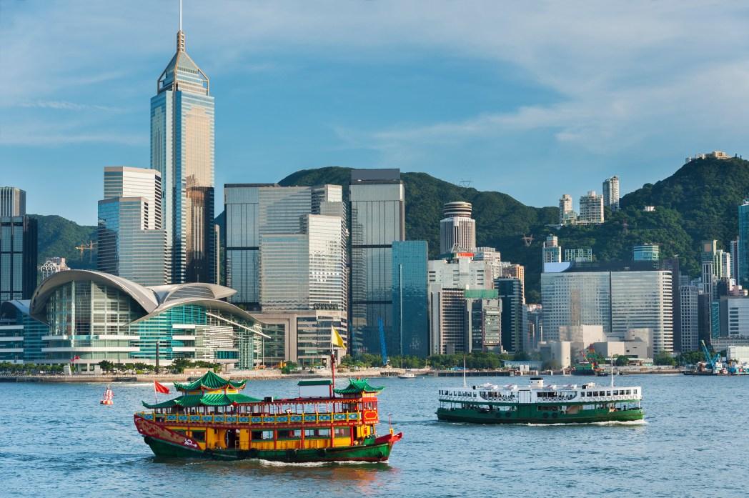 Phà cũng là một trong những phương tiện giao thông công cộng phổ biến ở Hong Kong
